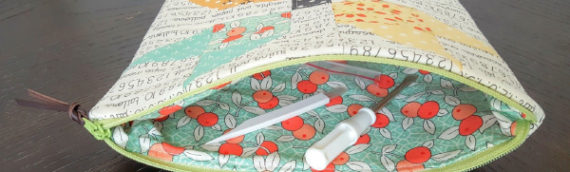 Mouthy Stitches zippered pouch swap #1